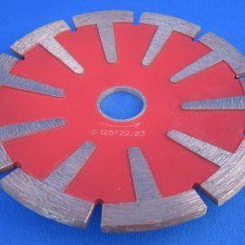Tarcza do granitu diament. 125 wypukla 270x270 - Tarcza diamentowa  TDT-HP