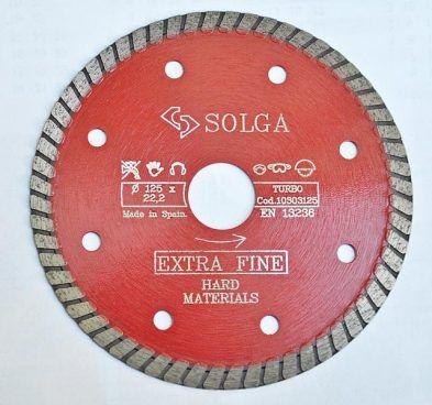 Tarcza do gresu TURBO FINE diament. 125x12 393x368 - Tarcza do gresu, TURBO FINE diament. śr. 125x1,2