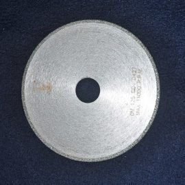 Tarcza do marmuru diament. 125 korona ciagla 270x270 - Tarczka do granitu diament. śr. 50 na trzpieniu 6
