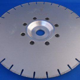 Tarcza do marmuru diament. 230 D.E. CF 270x270 - Tarcza diamentowa wypukła do marmuru diament. śr. 125