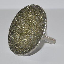 Tarczka do marmuru diament. 50 na trzpieniu 6 270x270 - Tarcza do gresu, TURBO FINE diament. śr. 125x1,2