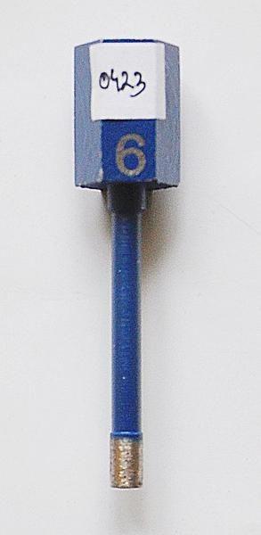 Wiertlo diam sr 6 M14 - Wiertło diamentowe śr. 6 M14