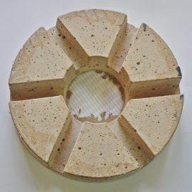 Talerz 250 gr. 320 270x270 - Kamień szlif. typu nerka S/PORO, gr. 3/4