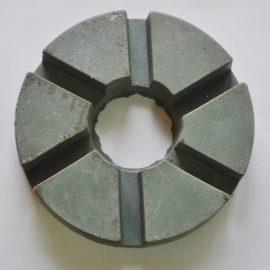 Talerz szlif. 250 gr. 3 4 PORO 270x270 - Kamień szlif. F/FURT do marmuru gr. 46/60/120/220