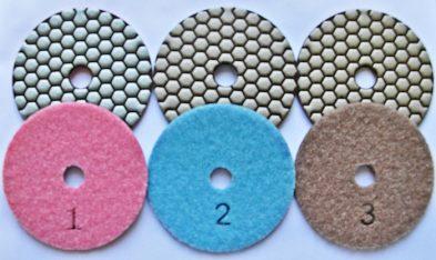 Tarcze do szlifowania 3 steps kpl. 3 szt. 393x234 - Tarcze do szlifowania 3 steps kpl. 3 szt.
