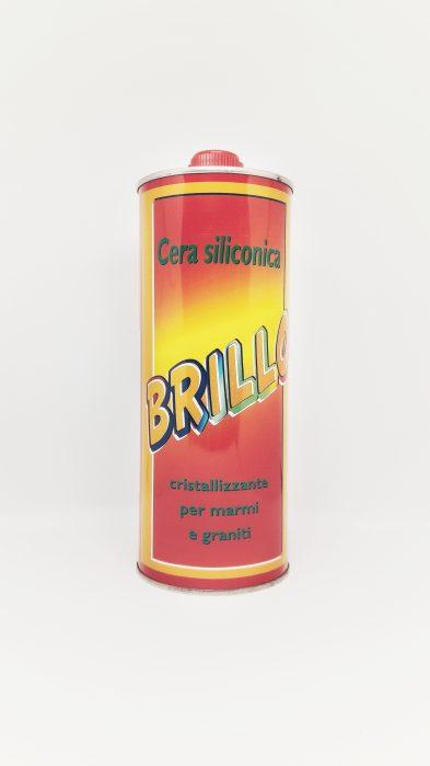 brillo 1 393x699 - Brillo 750 ml - wosk silikonowy krystalizator