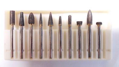 komplet frezików 3 mm 393x221 - Freziki do granitu komplet 10 szt