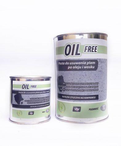 pasta oil free do usuwania plam z oleju i wosku